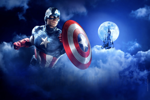Captain America Disneyland Paris