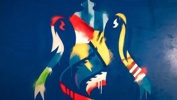 FA Cup GRaffitti