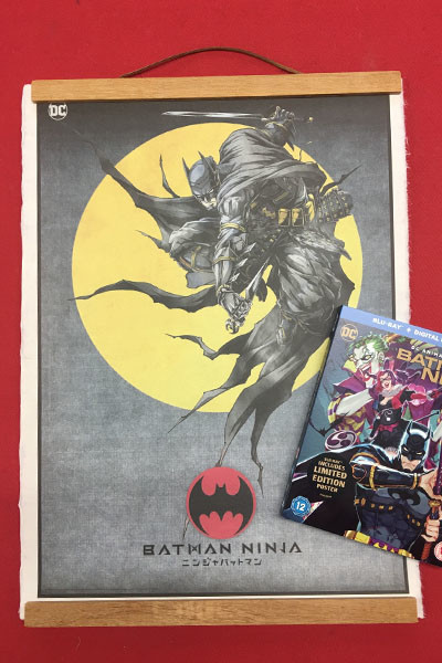 Batman Ninja Art
