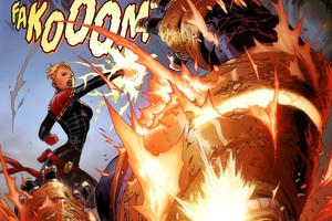 captain marvel thanos