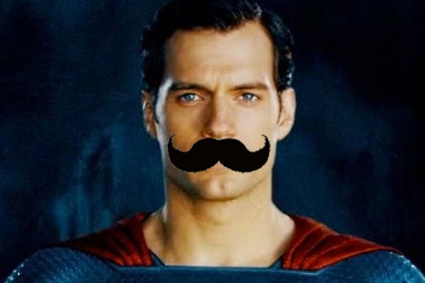 Superman Moustache