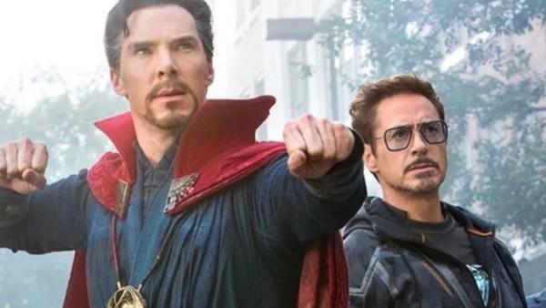 Avengers Infinity War Doctor Strange Tony Stark
