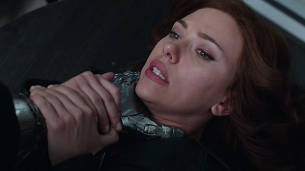 Black Widow Vs Bucky