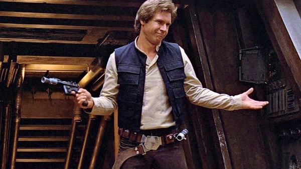 Han Solo Return Of The Jedi shrug