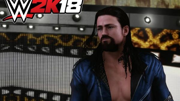 WWE 2K18 Brian Kendrick
