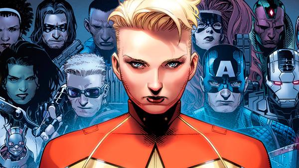 Captain Marvel Team Civil War