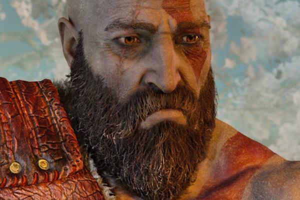 God Of War Kratos Sad