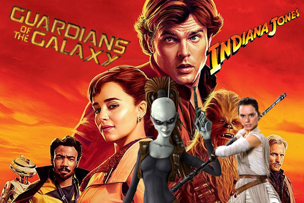 Solo Indiana Jones Guardians Of The Galaxy