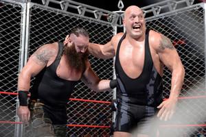 Braun Strowman Big Show Cage