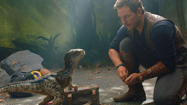 Jurassic World Fallen Kingdom Chris Pratt Blue