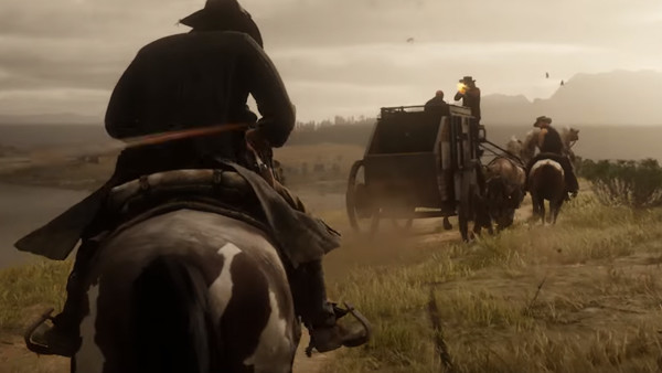 Red Dead Redemption 2 Stagecoach