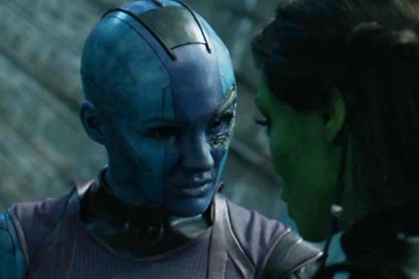 Guardians Of The Galaxy Nebula Gamora
