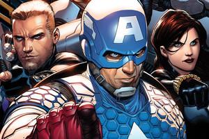 Captain America Hawkeye Black Widow