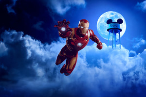 Disneyland Paris Iron Man
