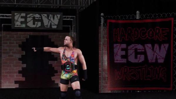 WWE 2K18 Rob Van Dam