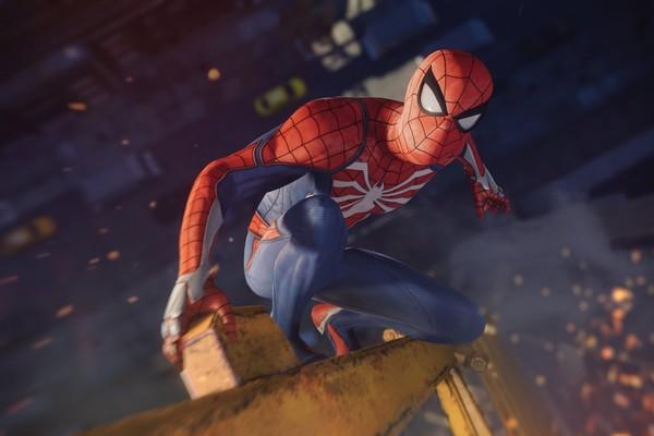 Spider-Man PS4 Crane