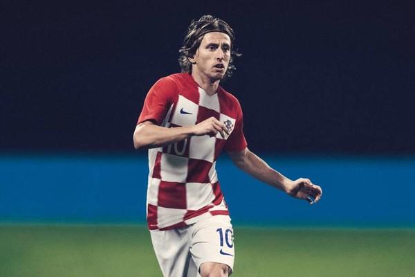Luka Modric Croatia World Cup 2018