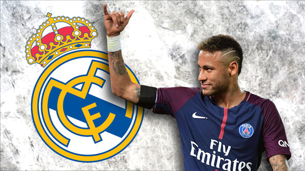 best sneakers 3573a 3ec20 Real Madrid Transfers: PSG Star Neymar Linked With A Shock ...