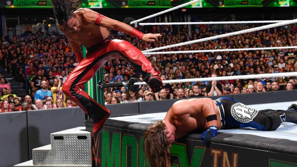 WWE Money In The Bank 2018 AJ Styles Shinsuke Nakamura