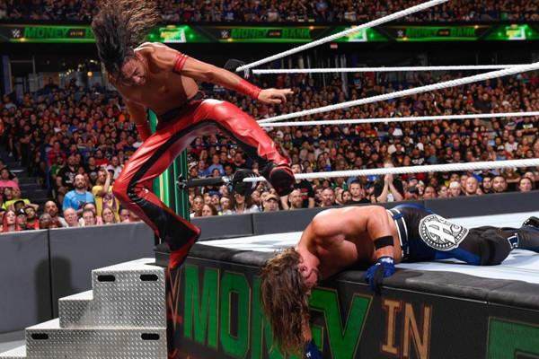 WWE Money In The Bank 2018 AJ Styles Shinsuke Nakamura