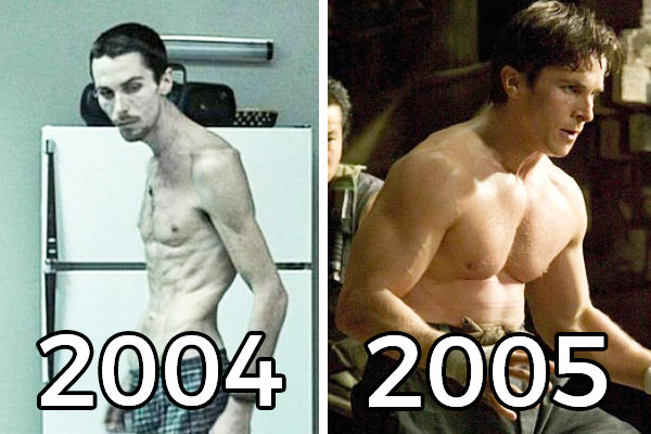 Christian Bale The Machinist Batman Begins