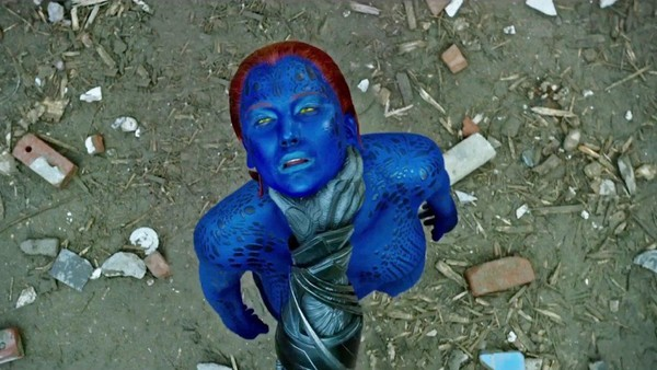 Mystique X-Men Choke