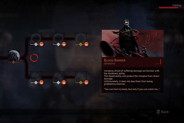 Blood Barrier Abilities Vampyr