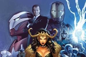 Avengers Siege Norman Osborn Iron Man Thor Captain America