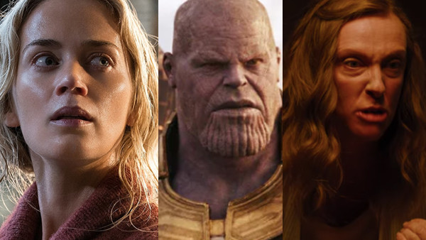 Avengers Infinity War A Quiet Place Hereditary
