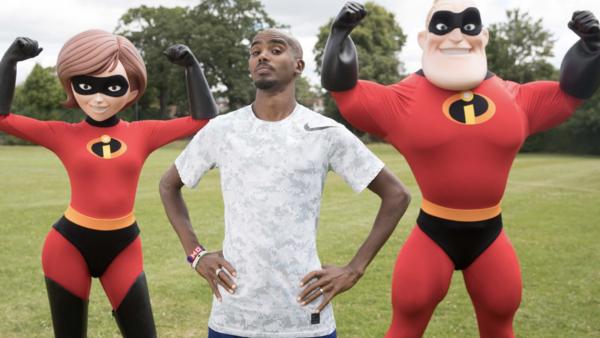 Mo Farah Incredibles