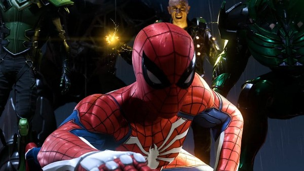 Spider-Man PS4 Sinister Six