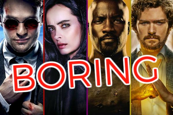 Netflix Marvel Problems