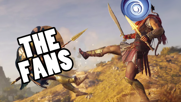 Assassins Creed Odyssey Kick