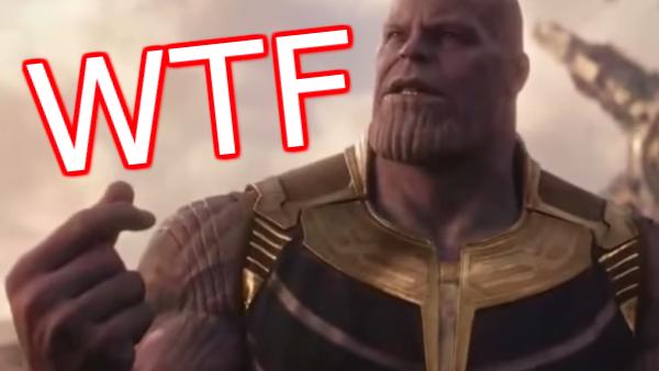 Infinity War WTF