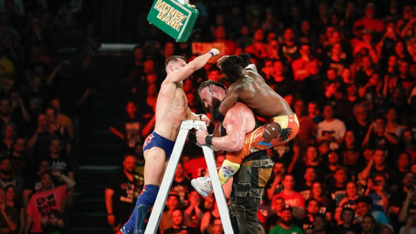 WWE Money In The Bank 2018 Finn Balor Kofi Kingston Braun Strowman