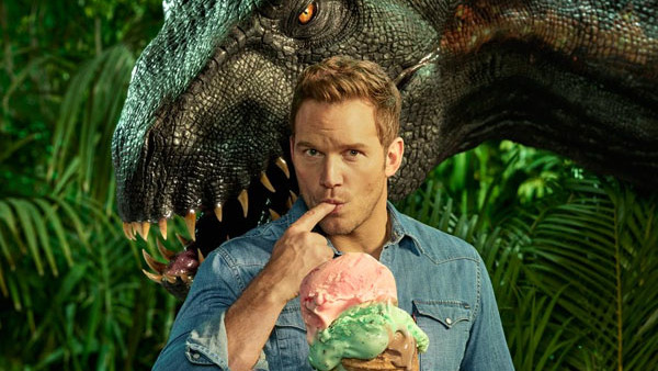 Jurassic World Fallen Kingdom Chris Pratt Indoraptor