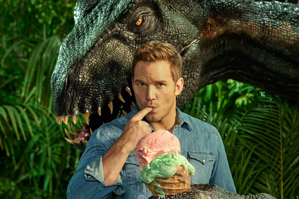 Jurassic World Fallen Kingdom Chris Pratt Indoraptor