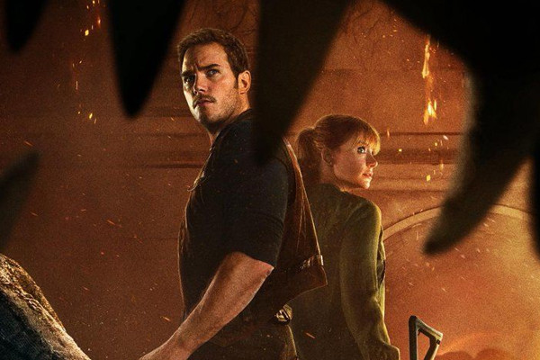 Jurassic World Fallen Kingdom Chris Pratt Bryce Dallas Howard