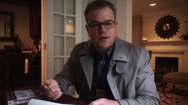 Unsane Matt Damon