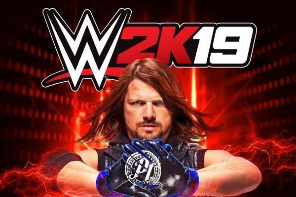 AJ Styles WWE 2K19