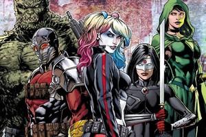 Suicide Squad DC rebirth Harley Deadshot Katana