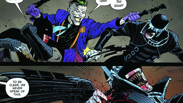 Dark Nights Metal Joker Batman