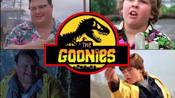 Jurassic Park Goonies