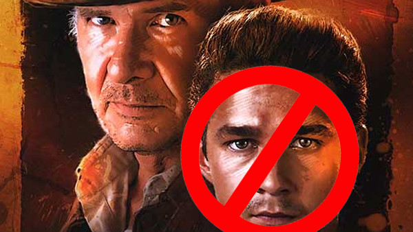 Indiana Jones And The Kingdom Of The Crystal Skull Harrison Ford Shia LaBeouf