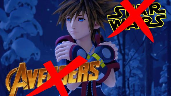 Kingdom Hearts 3 Avengers Star Wars