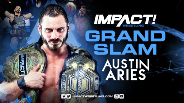 Austin Aries Impact Champion