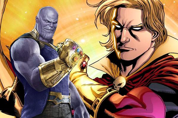 Adam Warlock Thanos