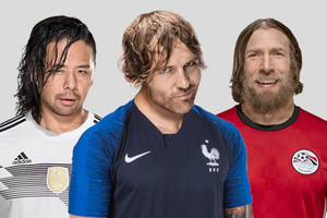 If WWE Superstars Were World Cup 2018 Teams...
