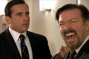 The Office Steve Carell Ricky Gervais