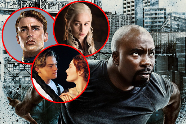 Luke Cage Season 2 Captain America Titanic Game Of Thrones